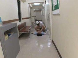 japanse, femdom, verpleegster