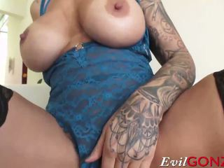 Blonde MILF Ryan Conner Takes Massive Cock in Her.