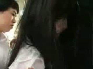 Saori hara in il treno
