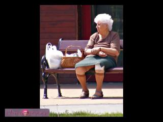 bbw, velho, grannies
