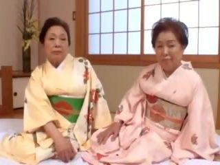 japonez, bbw, bunicuță