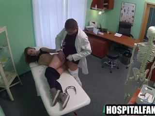 Petite Blonde Patient Gets Fucked By Her Doctor