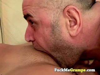 Viejo hombre jack fucks la chica ¡siguiente puerta