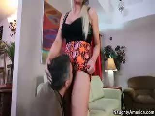 blowjob, blonde