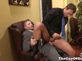 Văn phòng giới tính với muscle ông chủ colby jansen