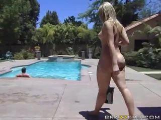 Alexis texas rides o gras pula după taking o dus video