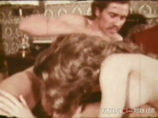 Vintage Porn Clip From The 1960s