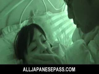 Dormind inger hikaru momose has surpriza futand