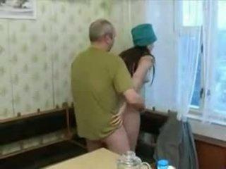 ryska, smalltits, oldman