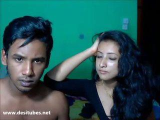 Deshi honeymoon para ciężko seks 1
