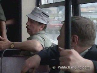 สาธารณะ sexon the รถบัส