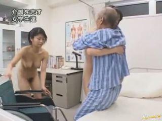 japonijos, blowjob, rytų