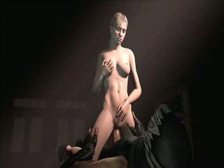 Jill Valentine in Resident Evil have sex