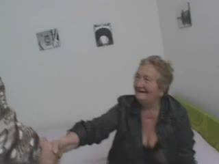 Sexy italiaans grootmoeder