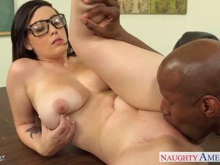 Chesty coed noelle easton gets melnas fucked