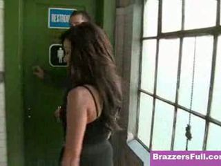 brunette, brazzers, nep tieten