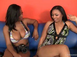 Alia Starr And Anita Peida Hottest Ebony Lesbians Ever