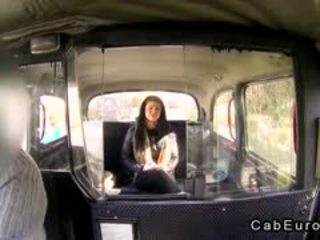 Natural Busty Amateur Fucking In Fake Taxi
