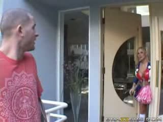 Brazzers - Big titty Hooker gets pounded hard and.