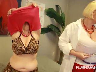 chubby, group sex, videos
