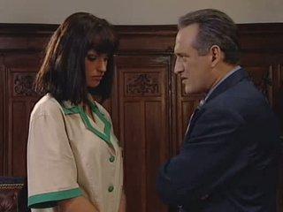 Anita blondine seduces haar baas video-