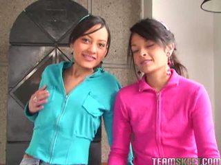 Tami fabiana และ diana delgado ใน น่ากลัว เซ็กส์ 4 คน