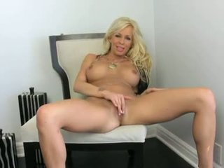 Eden Adams Open Wide Her Legs And Play With Her Pussy