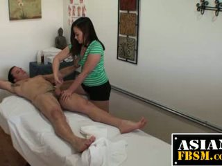 Asian Masseuse Sucking For Cash