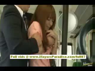 Rio asiática jovem grávida miúda getting dela peluda cona fondled em o