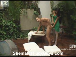Heet shemales schroef guys mov starring karoline, sena, anita