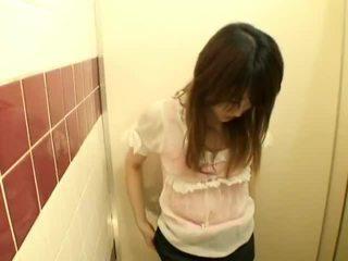 Spycam: Teens having Sex on Public Toilet