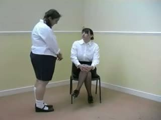 spanked, caned, pale