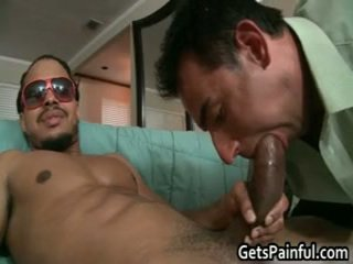Steven Receives His Rectal Hole Ripped By Darksome Cock 3 By Getspainful