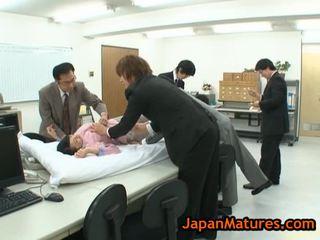 노인들 natsumi kitahara 에 뜨거운