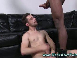 Tw-nk interracial ass fuck facial