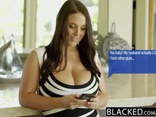 Blacked didelis natūralus papai australietiškas mažutė angela baltas fucks bbc