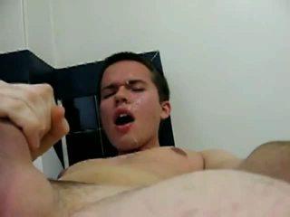 Sperma su il mio proprio faccia video