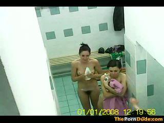 Zwemmen zwembad changing kamer voyeur