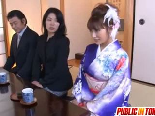Kirara asuka aziatisch model has publiek seks