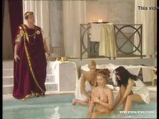 брюнетка, жорстке порно, оральний