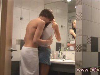 Горещ секс в на баня
