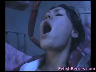 Poor Nurse Vs Alien Tentacles!