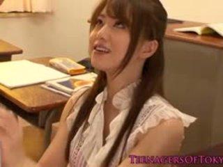 Japonsko puma učitelj zajebal s ji študent