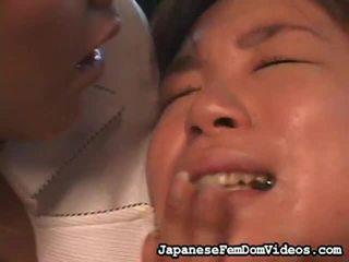 Sajaukt no hardcore sekss vids līdz japānieši femdom video