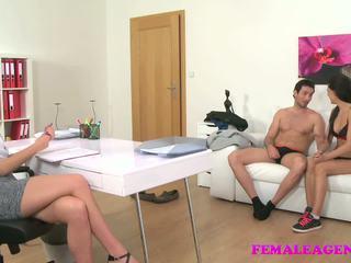 Femaleagent Sexy Threesome with Spanish Couple: HD Porn 9f