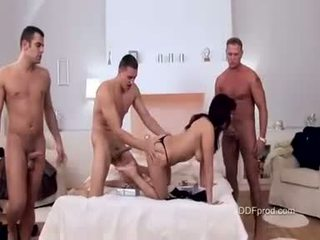 babes, bedroom, gang bang