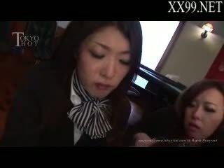 uniforme, asiático, air hostesses