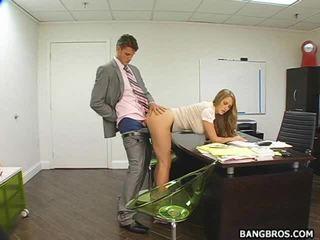 Hot Secretary Bent Over