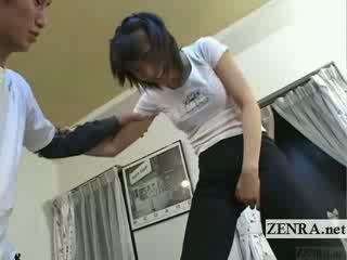 Subtitled japonské ballet spálňa stretching predohra