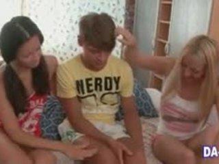 Perfect Teen Bimbos Share A Dick In Teen HD